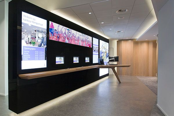 Storeage Created Smart Wall At The Rabobank Center In