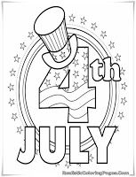 4th Of July Coloring Pages For Preschoolers July Colors 4th Of