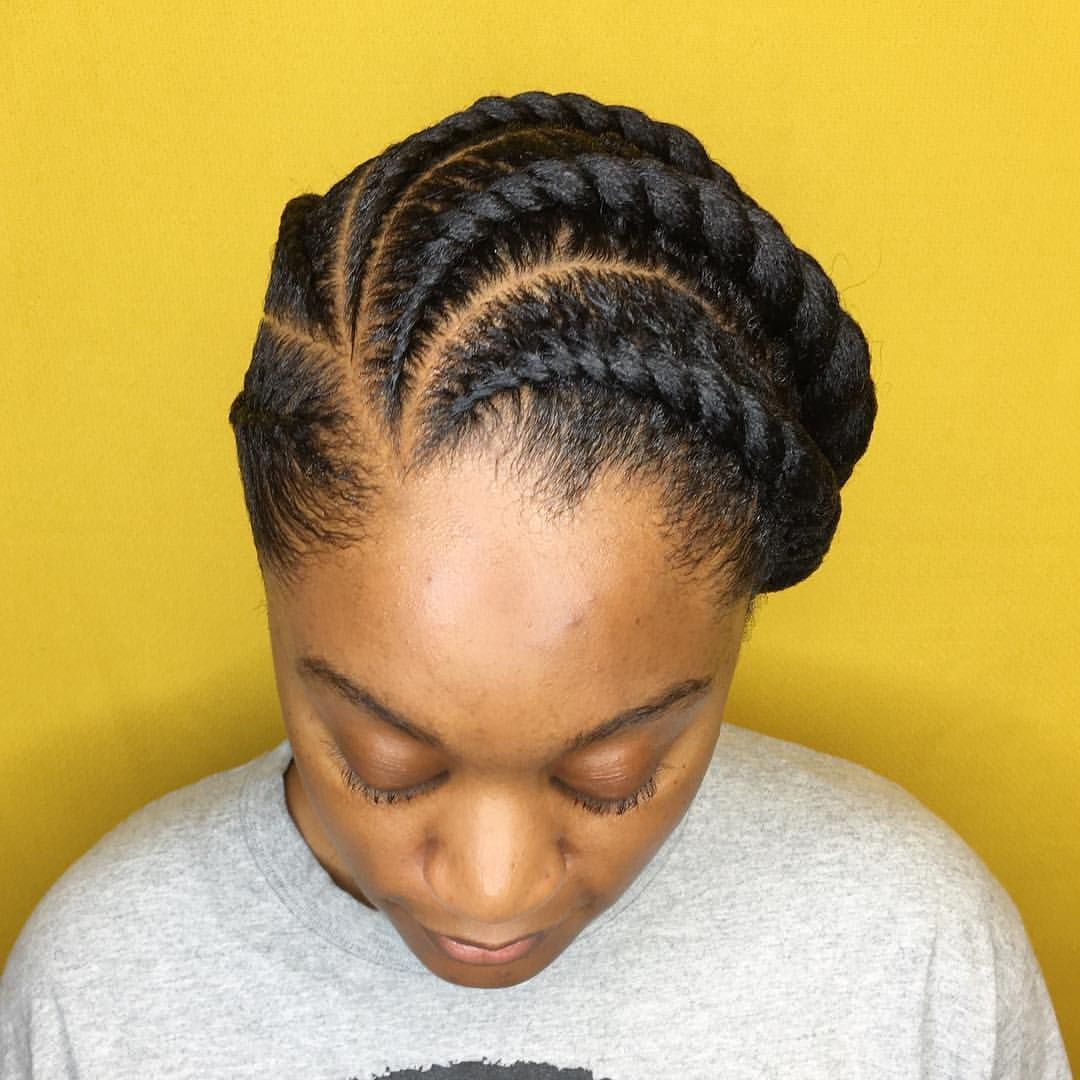 Flat Twist No Added Hair Frontalview Seepreviouspost