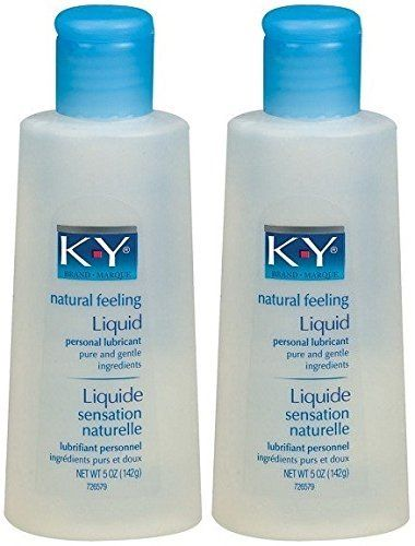 KY Liquid Personal Water Based Lubricant 5 oz 2 pk ...