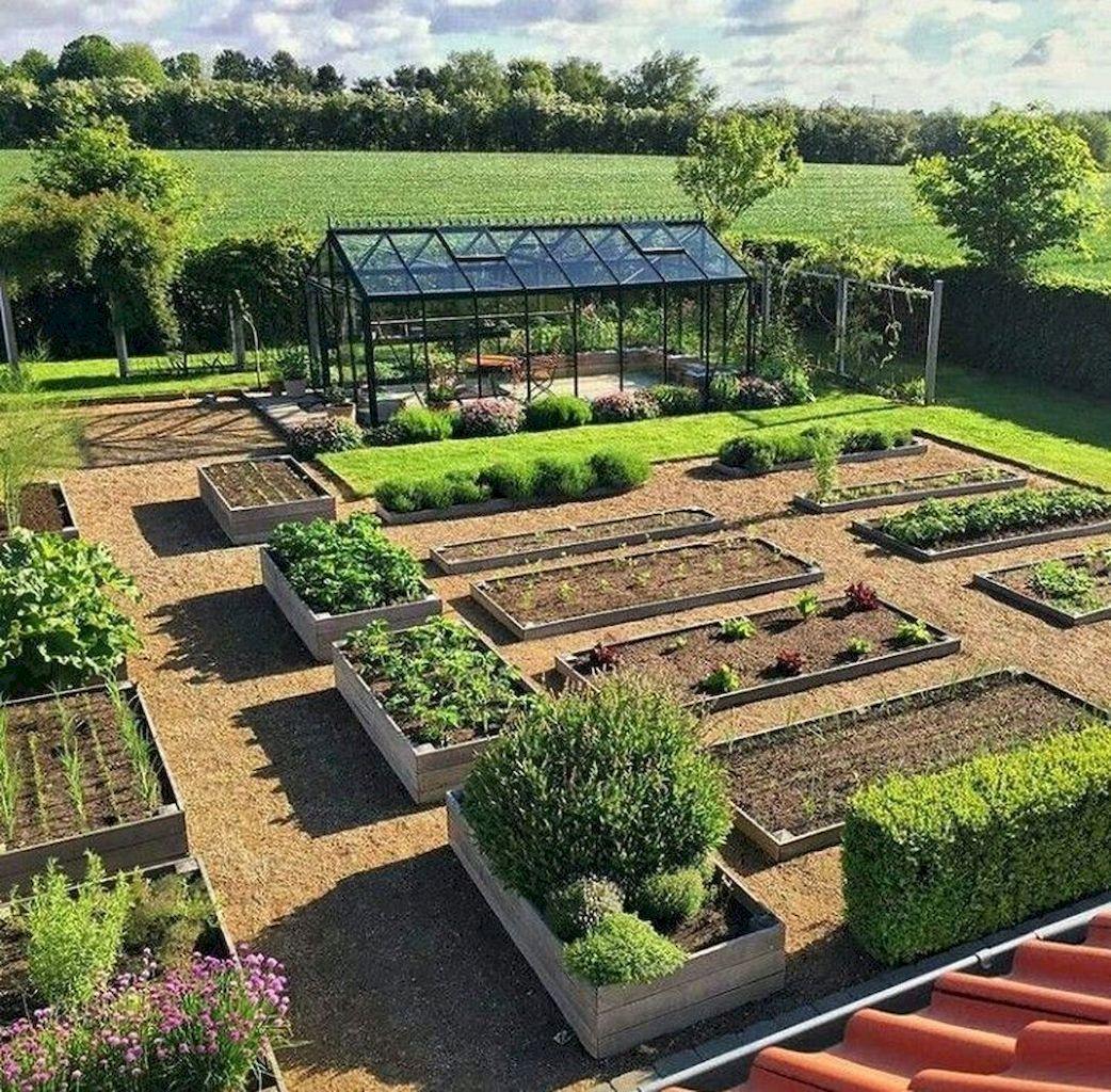 45 Affordable Diy Design Ideas For A Vegetable Garden My Desired Home Backyard Landscaping Vegetable Garden Design Backyard Vegetable Gardens