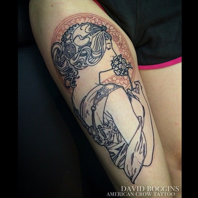 alphonse mucha tattoo - Google Search | Ink | Pinterest ...