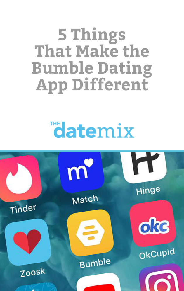 5 Things That Make the Bumble Dating App Different