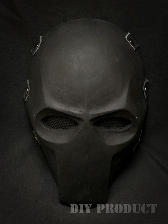 Army of Two - Flat Black Airsoft | Mask | Pinterest | 格闘技 と 仮面