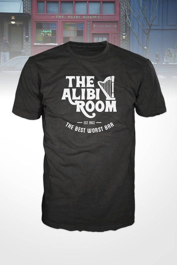 e3d952ce6 Shameless T-Shirt - The Alibi Room, bar and pub, St. Patricks Day tee shirt,  TV show, comedy, drama,