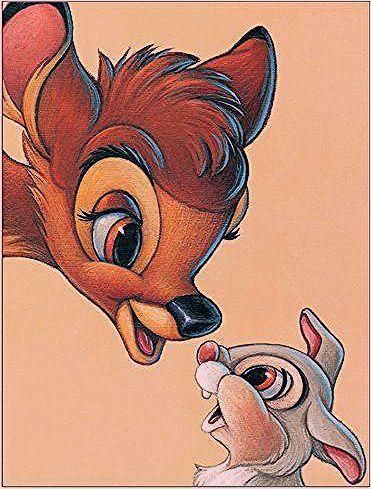 Photo of Disney Classics Paneel Disney – Bambi und Klopfer, Grafikdruck | Wayfair.de