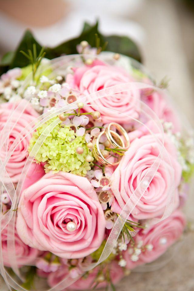 Brautstrauß - Hochzeit von Aline & Robin
