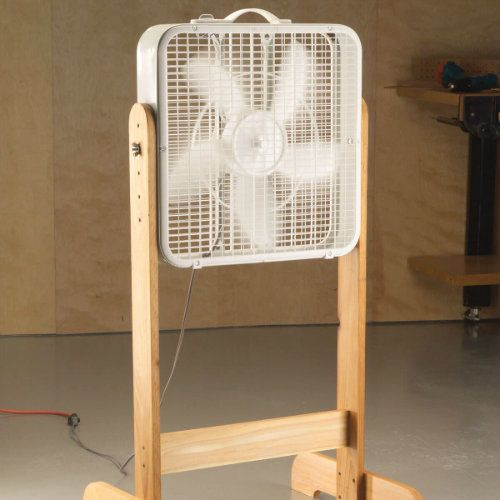 How To Build A Box Fan Stand In 30 Minutes Diy Woodworking Woodworking Projects Woodworking Plans