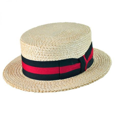 0e49d5ae Women's in 2019 | Straw Boaters | Boater hat, Hats, Boater hat mens