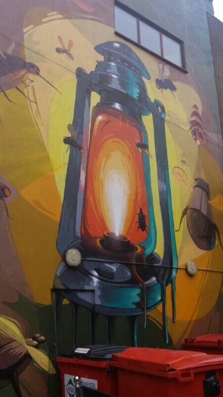 #graffiti #piece #burner http:// urbanartbomb.com Brighton graffiti 2014, UK