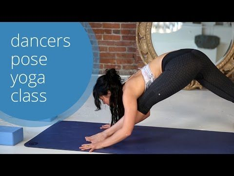 Dancer's Pose Yoga Class with Meghan Currie - YouTube (full class with savasana!) 31 min.