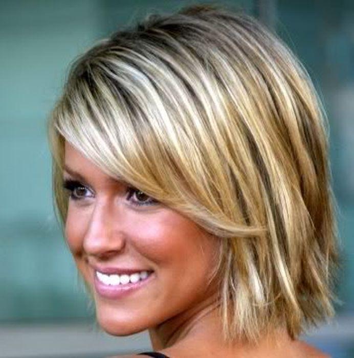 love short blonde bob cut