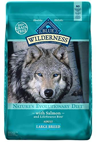 Blue Buffalo Wilderness High Protein Grain Free Natural Adult Large Breed Dry Dog Food S