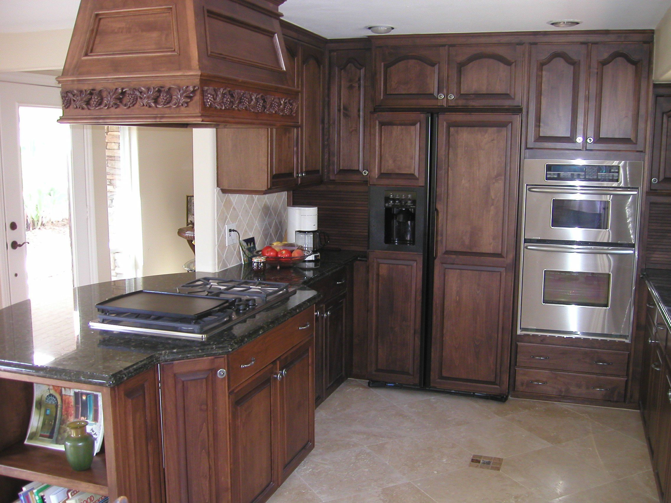 Socal Creative Woodworks Kitchen Cabinets Stained Dark Oak Dark Stain Kitchen Cabinets Restaining Kitchen Cabinets Oak Kitchen Cabinets Oak Kitchen