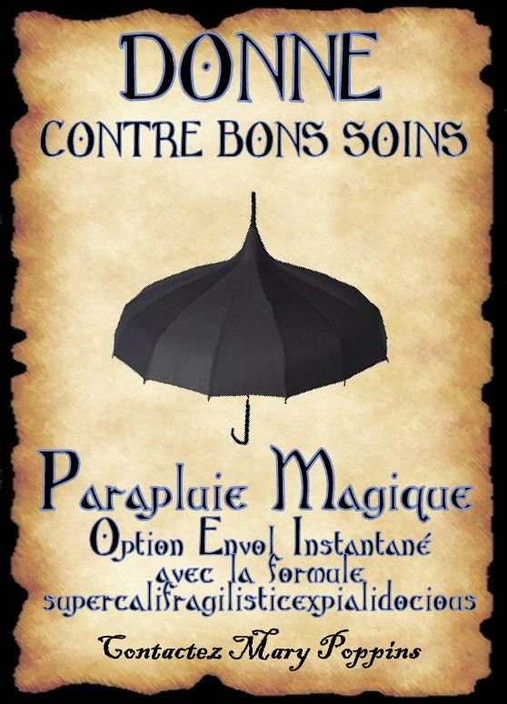 Affiche mary poppins imagine affiches anime elf - Pancarte humour ...
