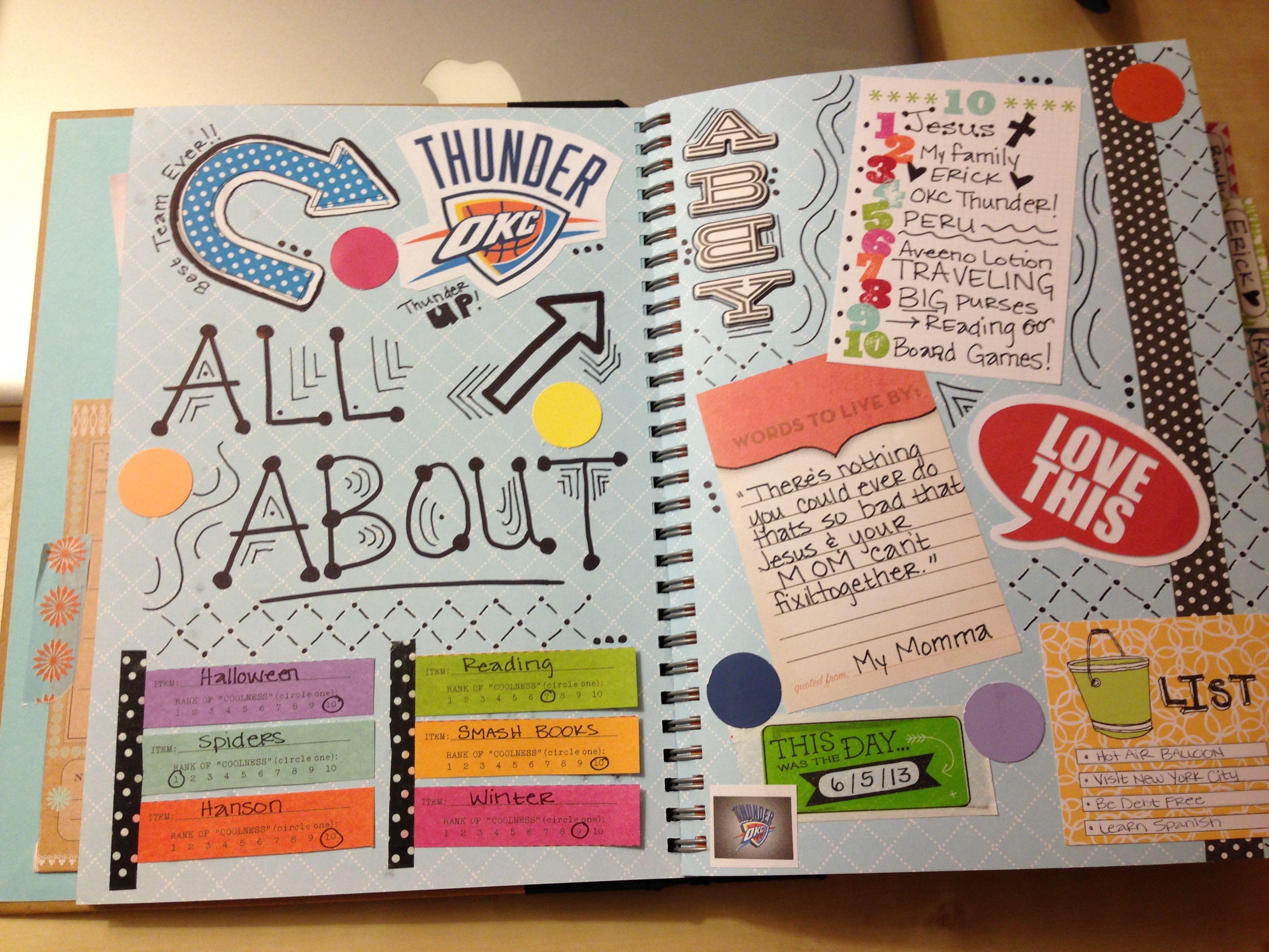 Pin By Renee Canham On Cheap Craft Ideas Smash Book Inspiration Smash Book Smash Journal