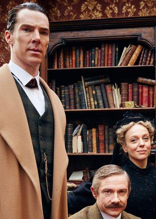 "benedictsherllock: "" ""Benedict Cumberbatch, Martin Freeman ..."