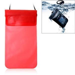 Wasserdichte Tasche für iPhone, iPod, Mobiltelefone , MP3, MP4 , etc.  rot