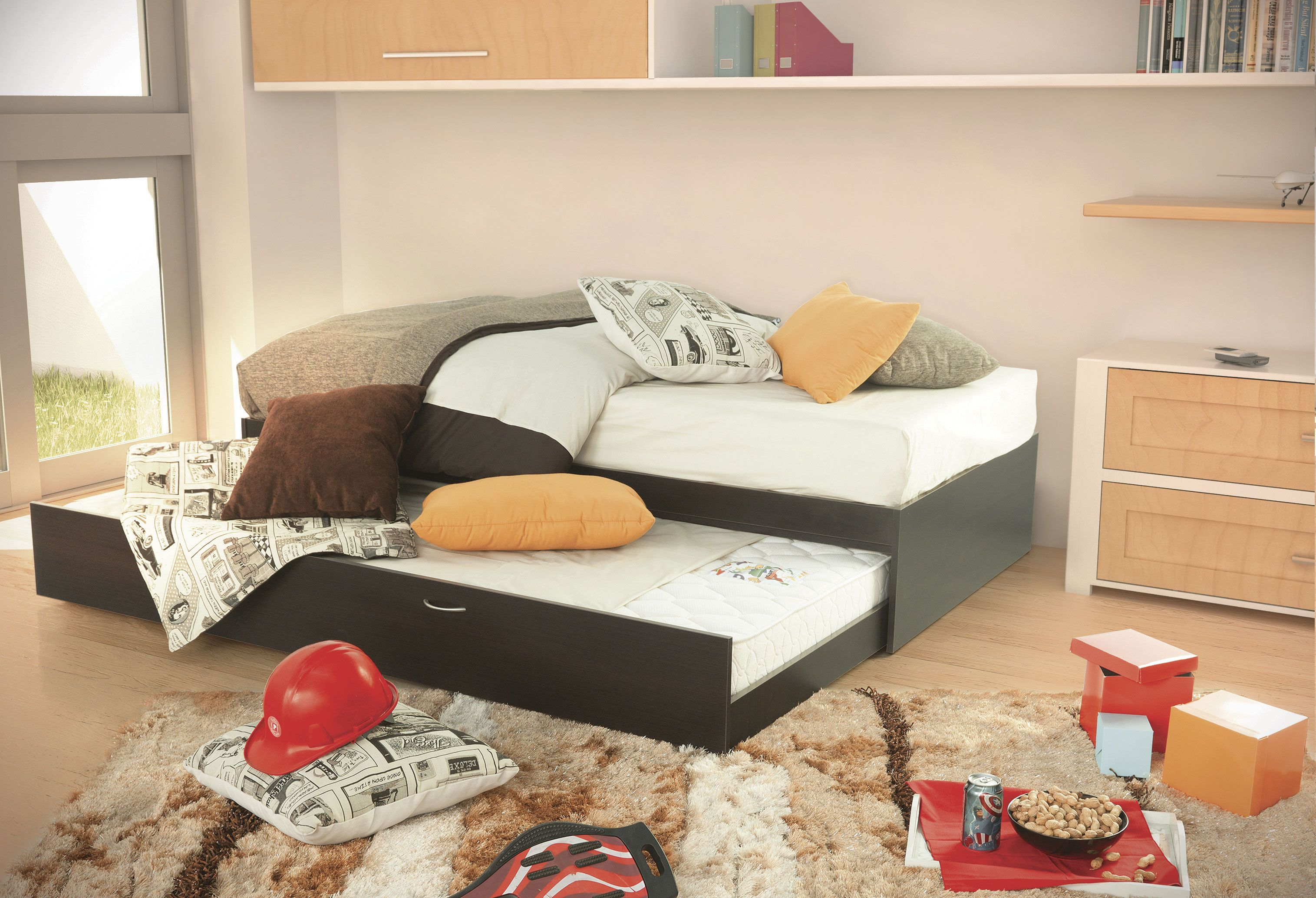 Cama Chocolate de Placencia Muebles | Kids and Teens | Pinterest ...