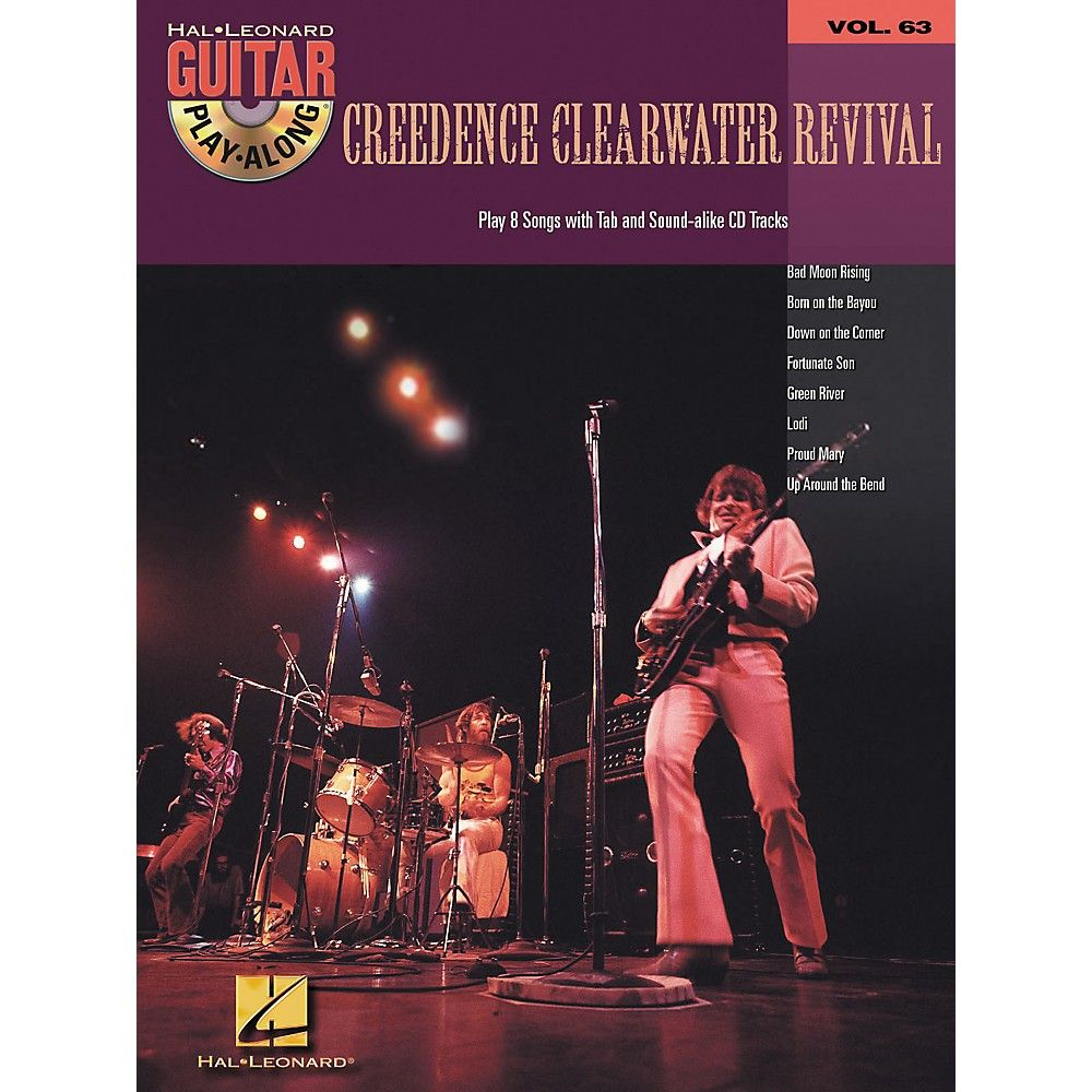 Hal Leonard Creedence Clearwater Revival Guitar Play Along Volume