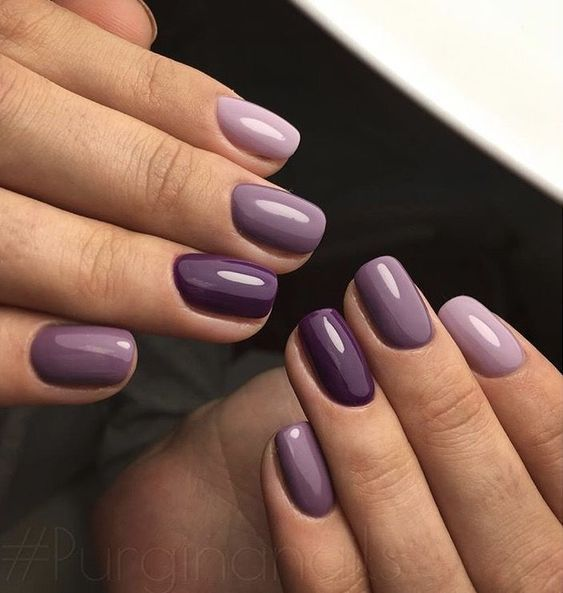 Photo of 35 charming and beautiful purple nail designs