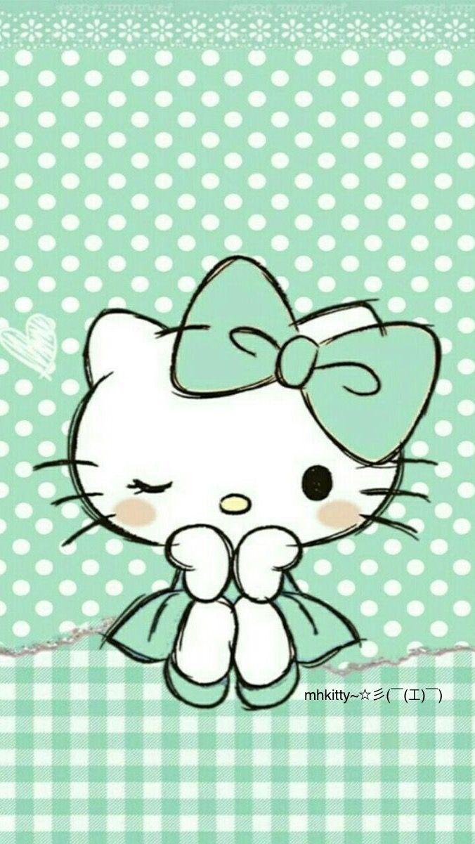 mhkitty 彡 工 ハローキティー キティの壁紙 キュートなスケッチ