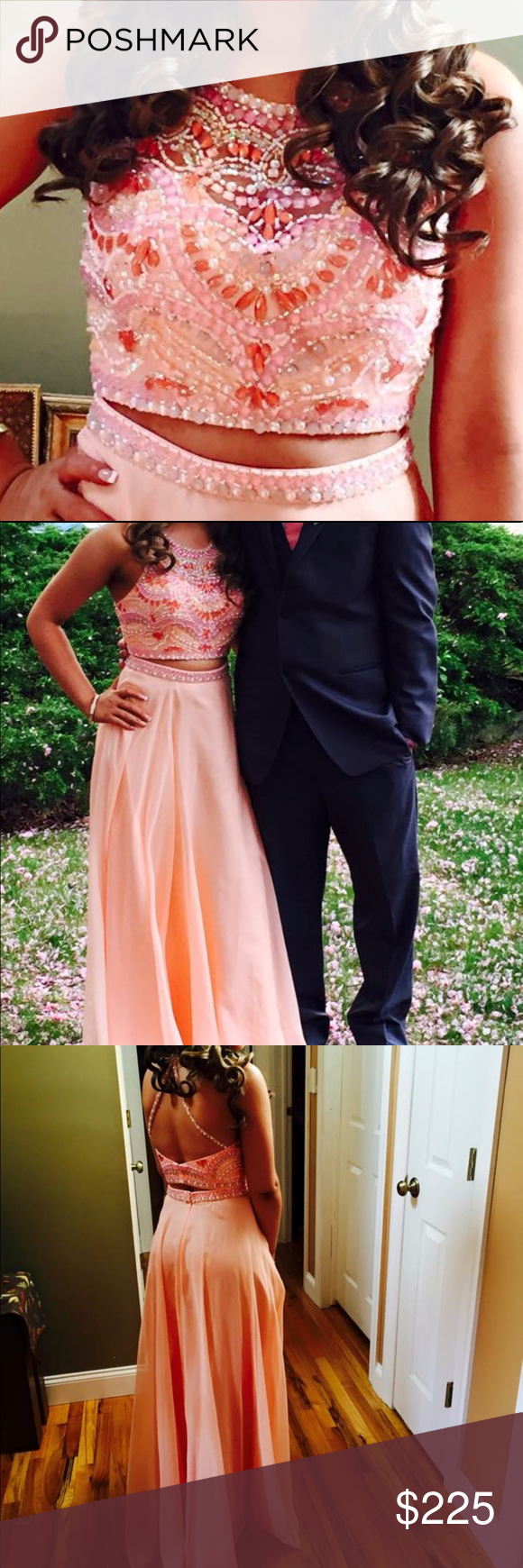 Prom dress blush dresses blush prom and dress prom