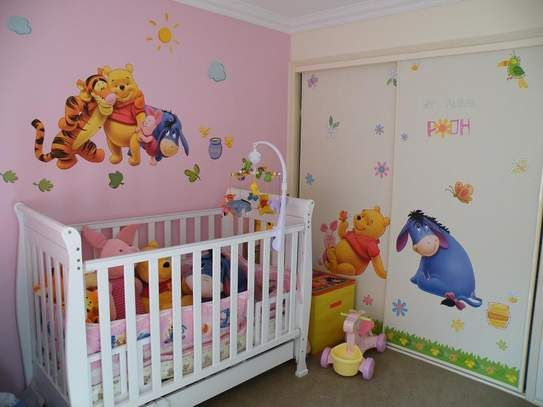 Winnie The Pooh Decorations For Baby Room Mural Ideas Ehowcom Pictures