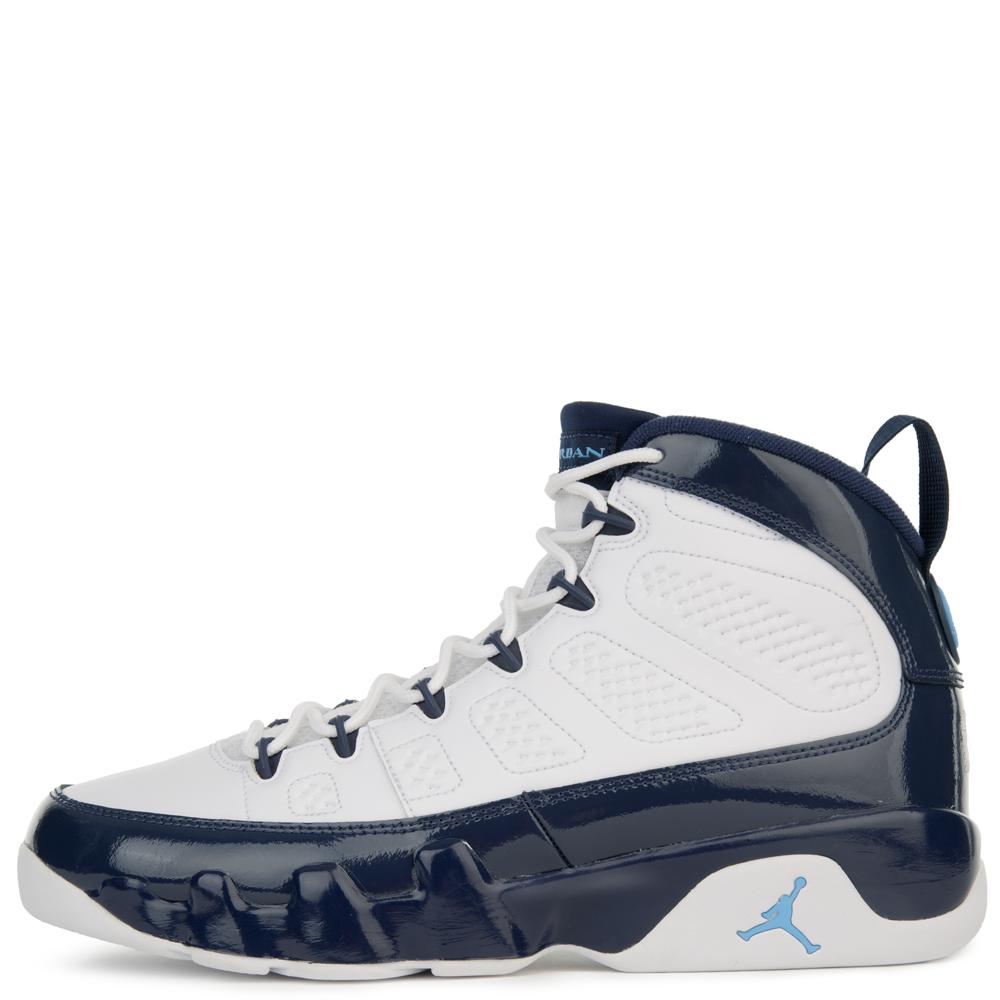 Jordan Air Jordan 9 Retro White/university Bluemidnight