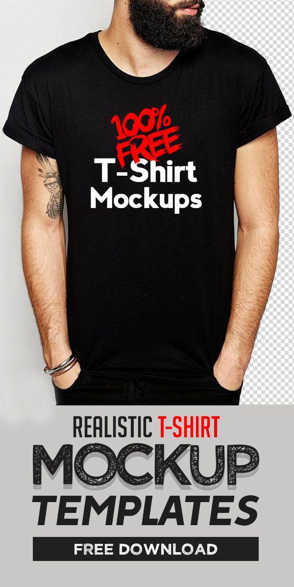 45 Free TShirt Mockup Templates PSD Shirt mockup, T