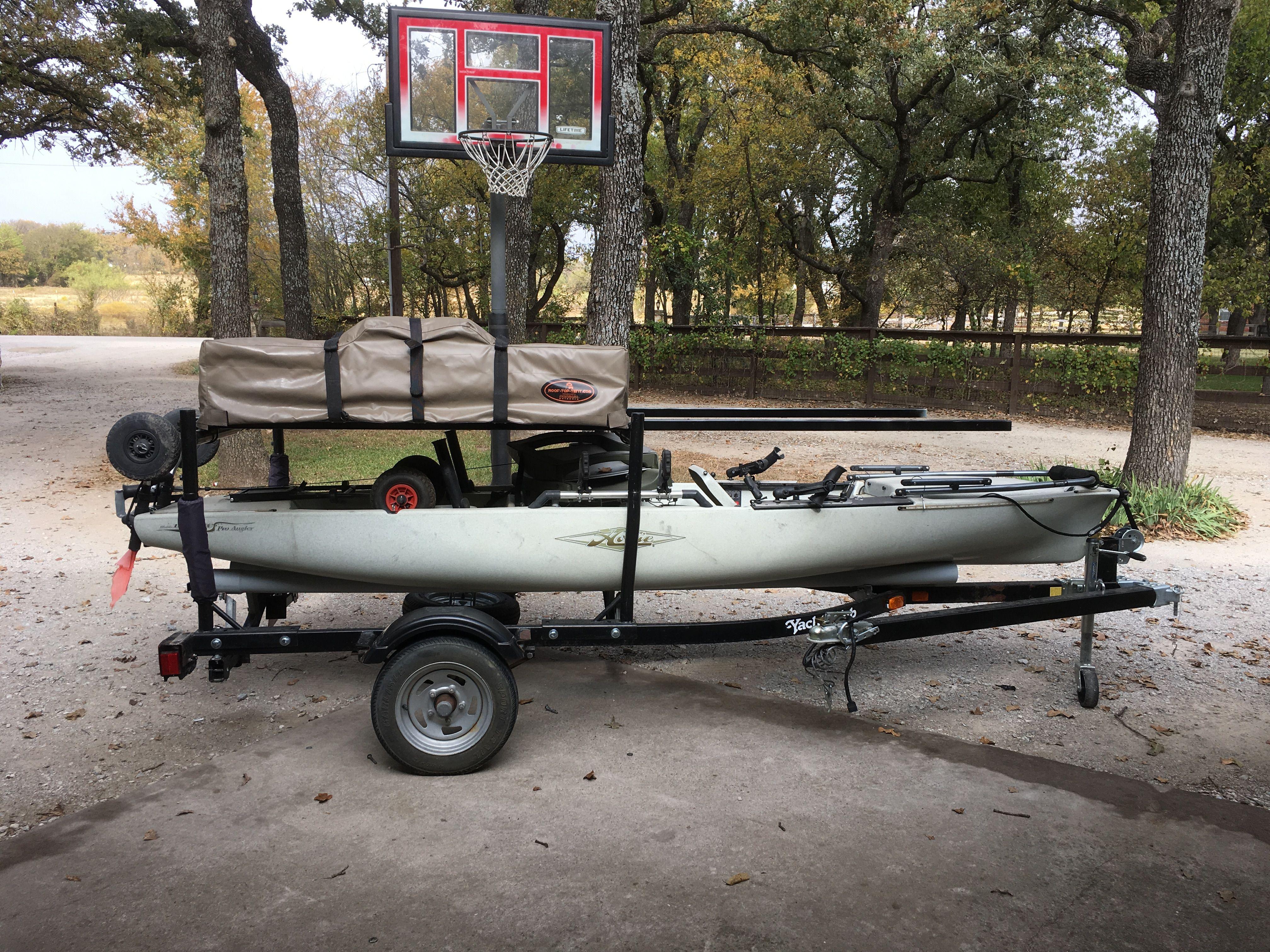 Pin By Dale Kildal On Kayak Roof Top Tent Rtt Kayak Trailer Kayak Fishing Kayaking