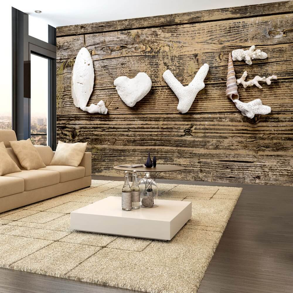 Wallpaper Declaration Of Love In 2020 3d Wallpaper Mural