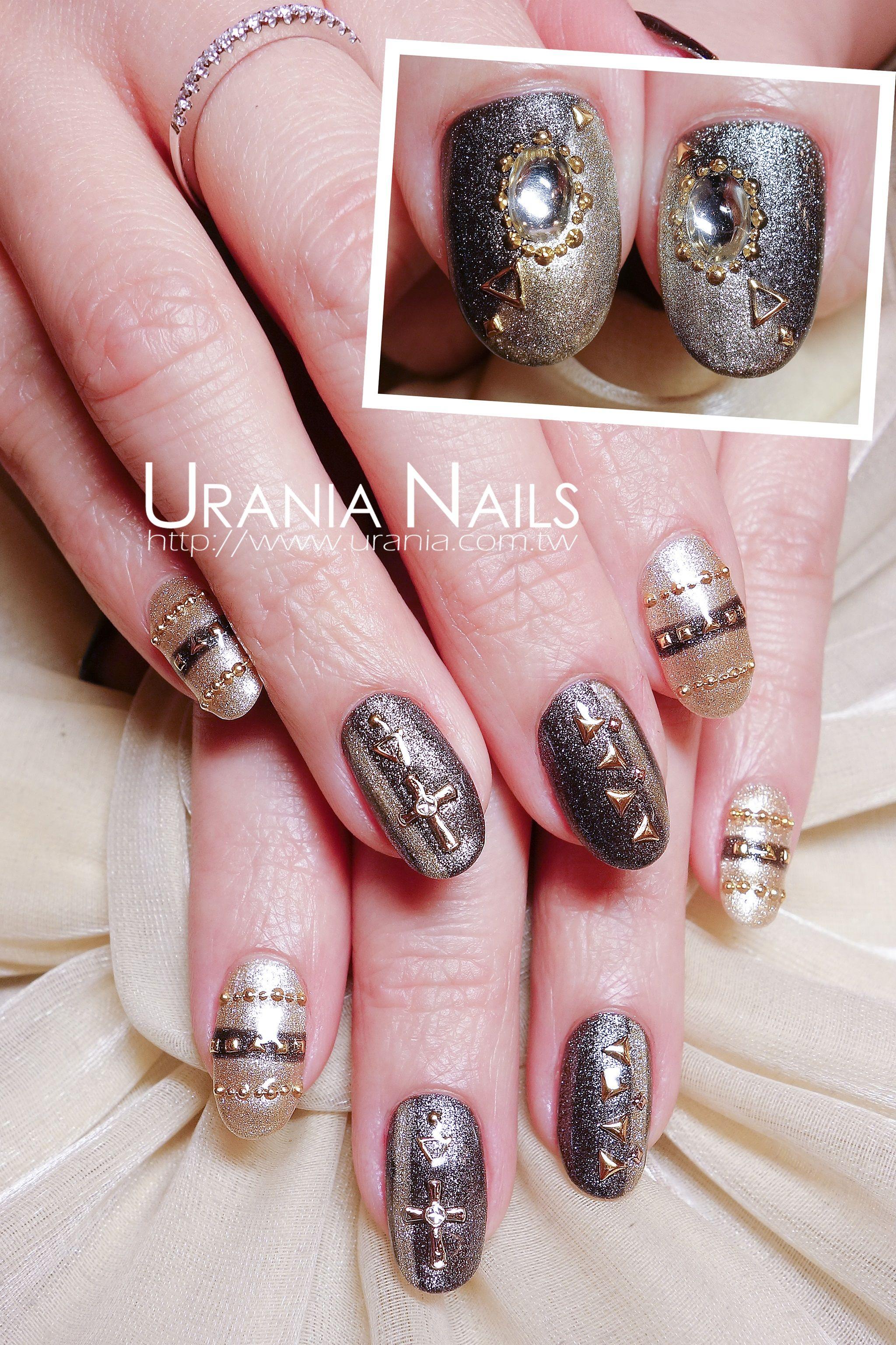 Urania Nails http://blog.urania.com.tw/?p=920 | Urania Nails Art ...