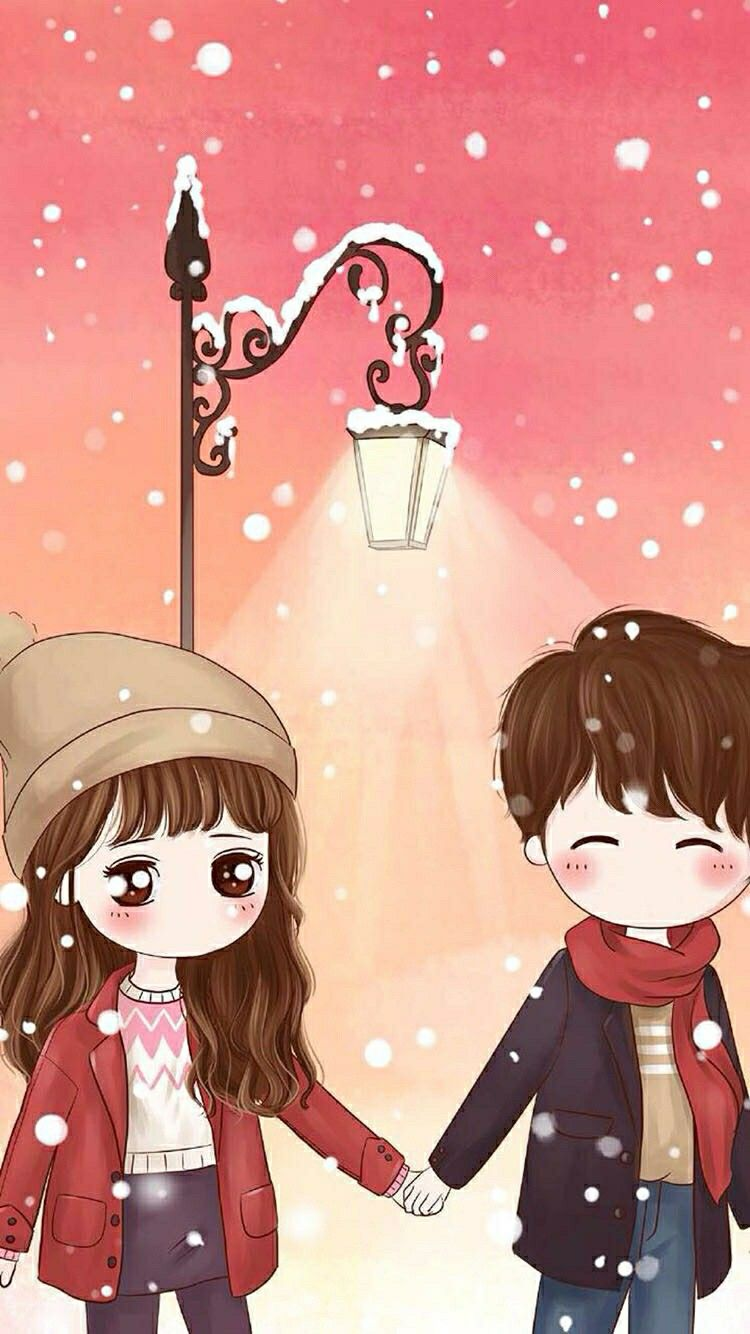 Pin By Michelle On Cute Couple Cute Couple Wallpaper Cartoon Wallpaper Cute Couple Cartoon Cute anime couple wallpaper for
