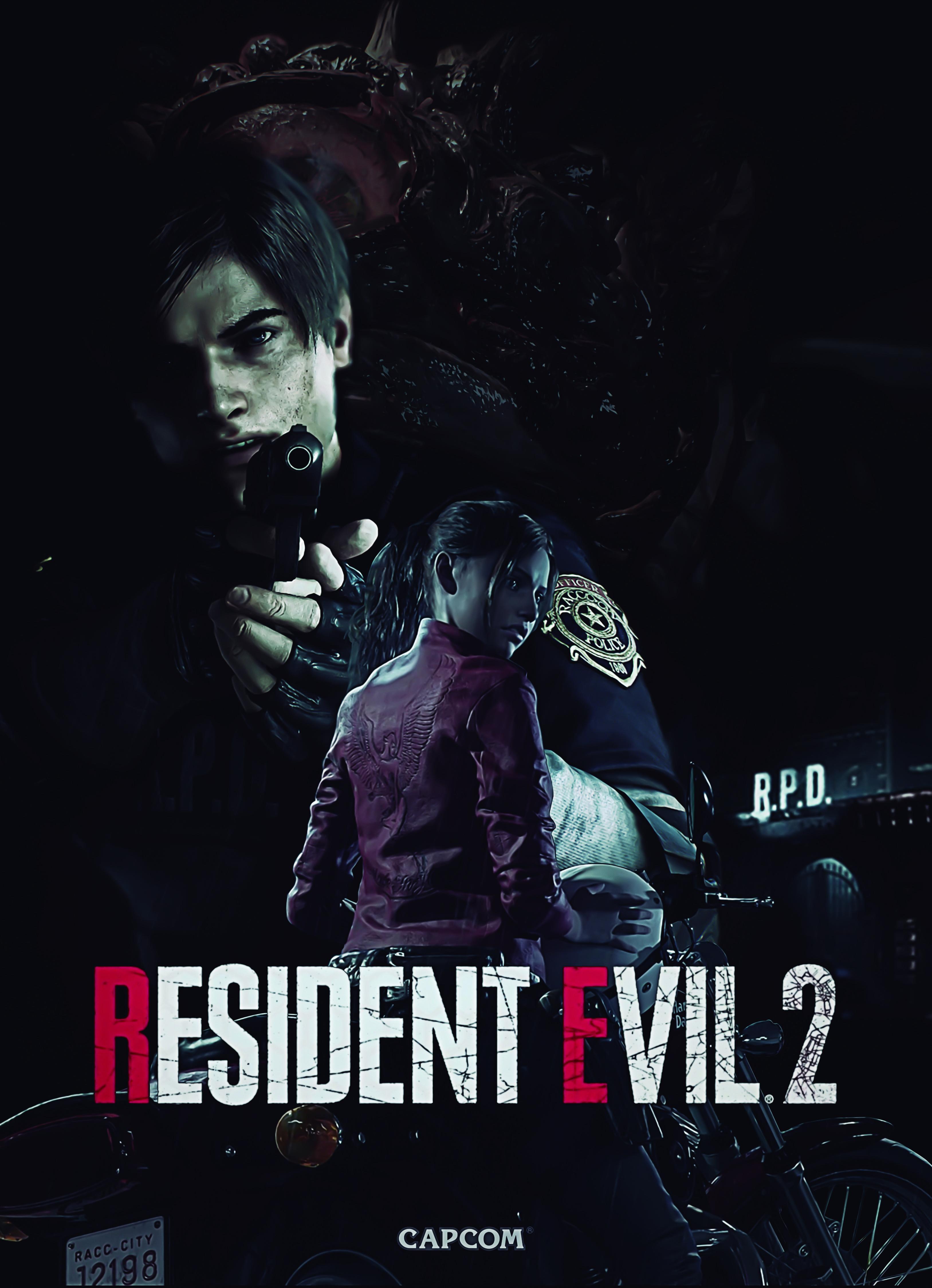 Minha Capa Resident Evil 2 Remake Resident Evil Resident Evil