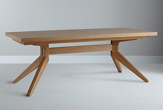 Oak Cross Extendable Dining Table By Matthew Hilton For Case From John Lewis