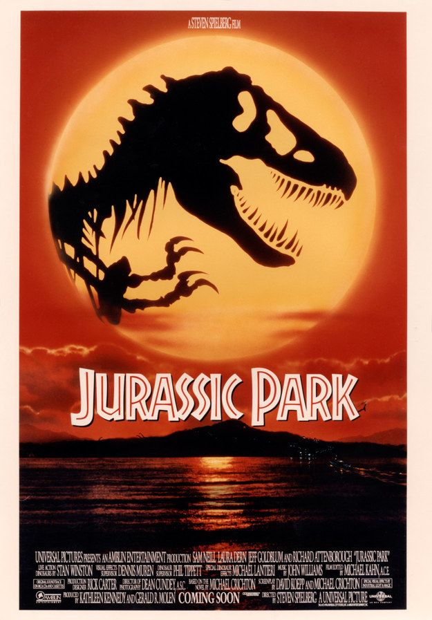 "Photo of This Unseen ""Jurassic Park"" Poster Art Is Incredible"