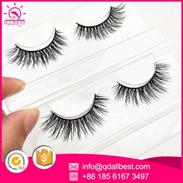 Custom Long Handmade Densely Private Label Fake Eyelashes Wholesale