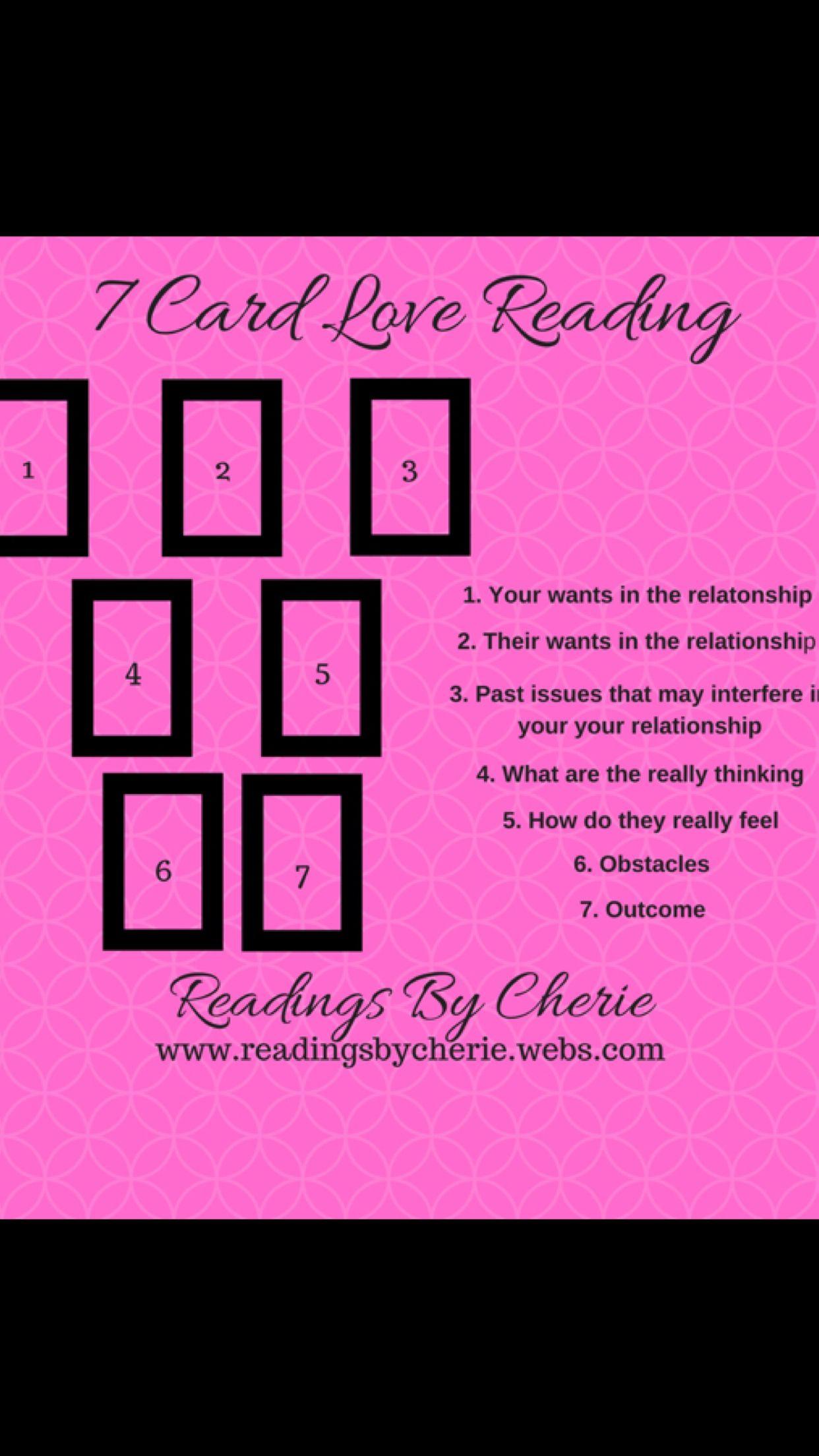 7 card love tarot reading love tarot reading tarot