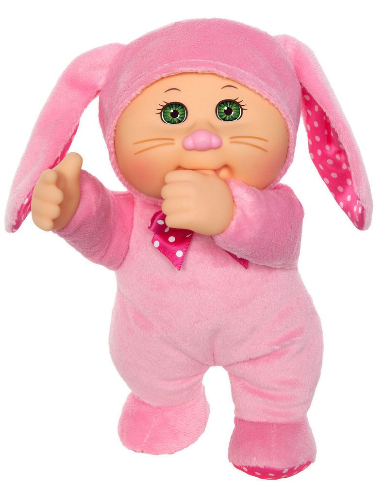 Cabbage Patch Kids 9 Cuties Doll 2018 Garden Party Collection Fluffy Bunny Cabbage Patch Dolls Fluffy Bunny Cabbage Patch