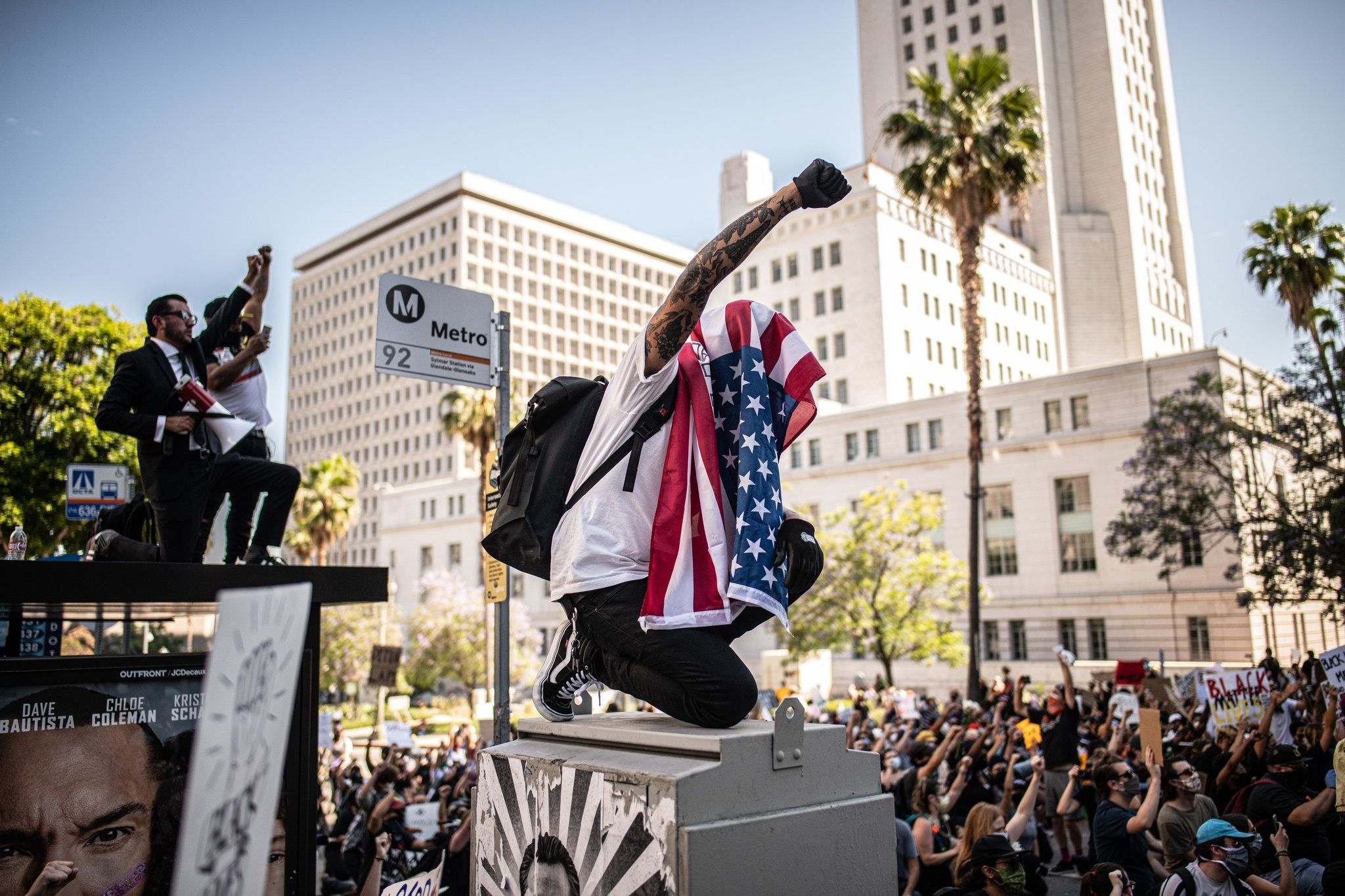 In Photos Protesters March In Cities Across America In 2020 New York Times News Hollywood Location Tulsa World