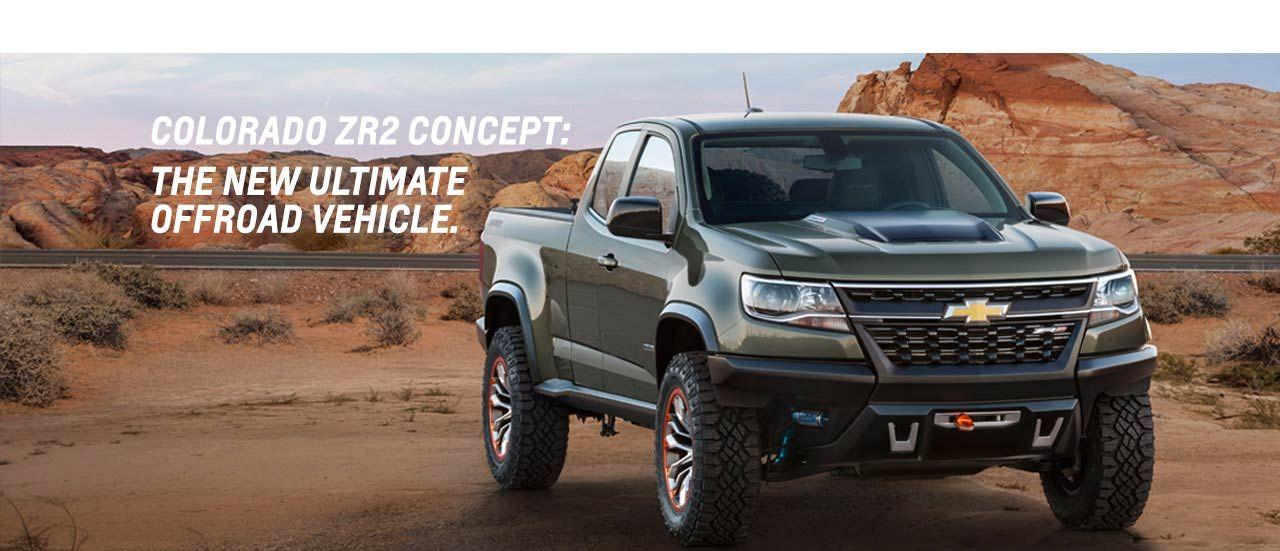 Colorado Zr2 Concept New Symbol Of Off Road Chevrolet Cars I 3