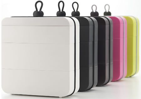 Metaphys Ojue Lunch Boxes With Three Separating Containers