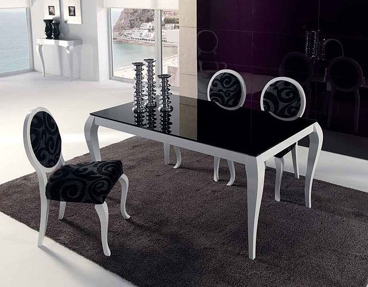 Comedor Vintage Biarritz Material Cristal Muebles realizados en