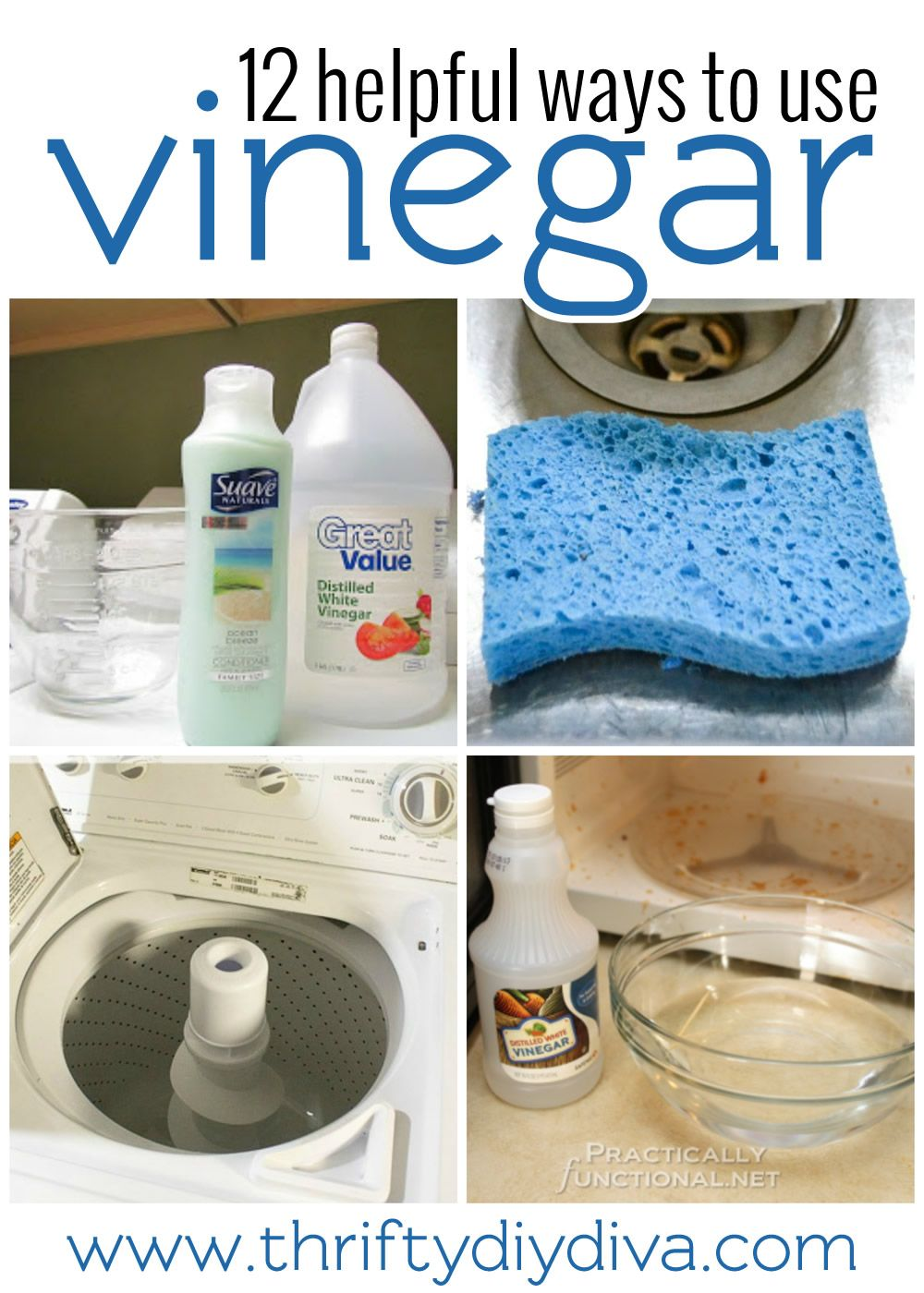 How To Clean Using Vinegar Cleaning Hacks Diy Cleaning Products Cleaning