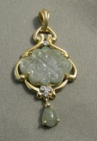 Jp jade pendant mystical knot jewelry pinterest jade jp jade pendant mystical knot aloadofball Image collections
