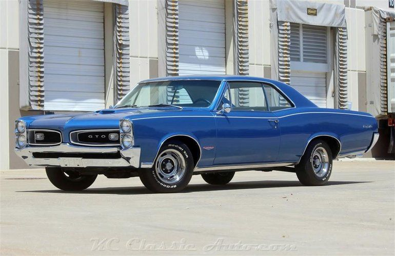 1966 Pontiac Gto 389 Tri Power Pontiac Gto Pontiac Gto For Sale Gto