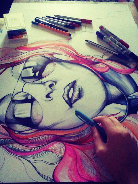 ♥ #drawing