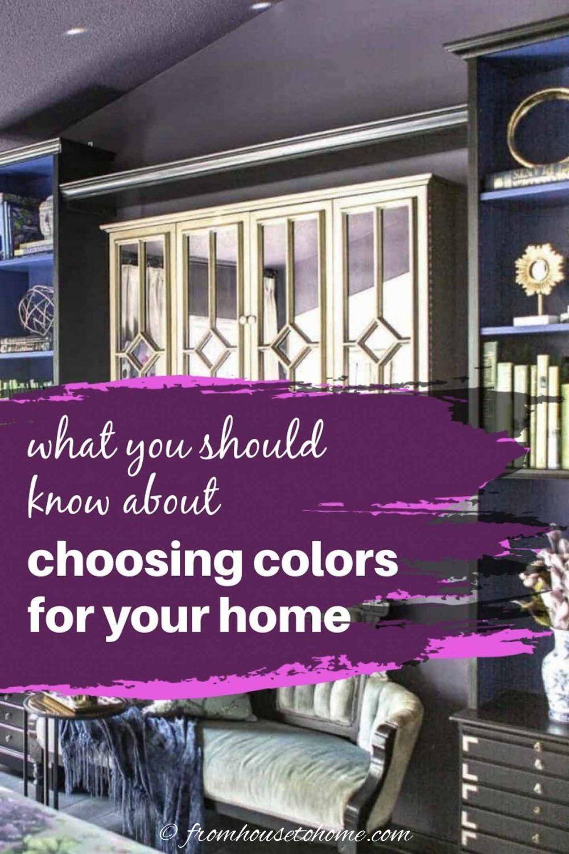 How To Create A Whole House Color Scheme Even If You Love Color In 2020 House Color Schemes House Colors House Color Palettes