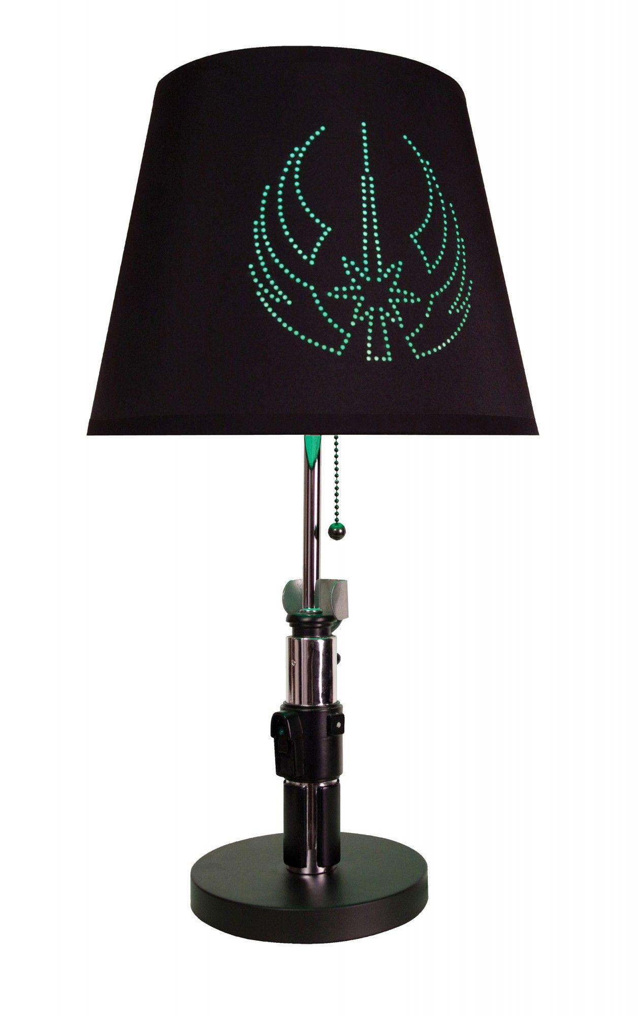 Star Wars Lightsaber Table Lamps Bring The Force To Every Room Star Wars Light Saber Star Wars Yoda Yoda Lightsaber